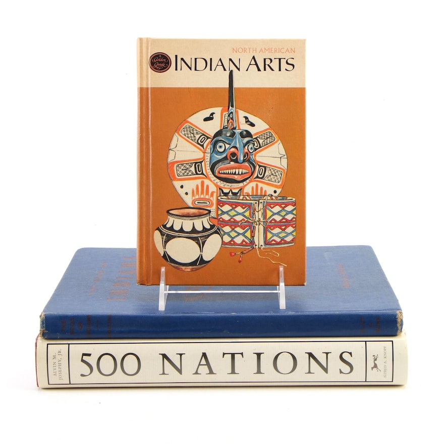 """First Edition """"500 Nations"""" by Alvin M. Josephy, Jr. and More"""
