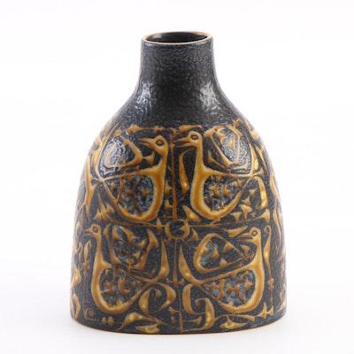 "Nils Thorsson for Royal Copenhagen ""Baca"" Vase, circa 1960s"