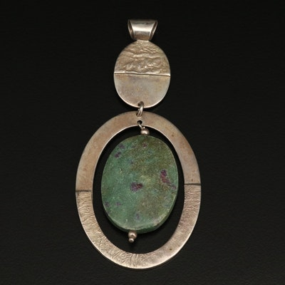 Sterling Ruby in Zoisite