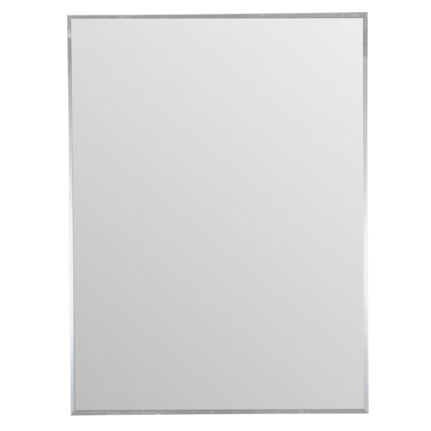 "32"" Rectangular Mirror with Beveled Edges"