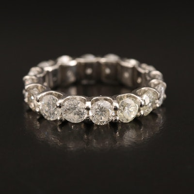 Platinum 3.80 CTW Diamond Eternity Band