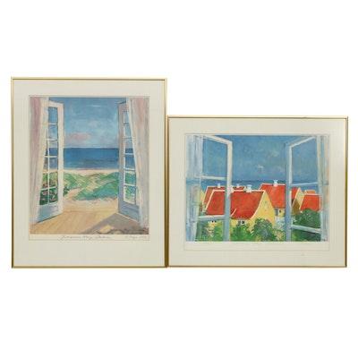 Johannes Meyer Andersen Offset Lithographs, 1993