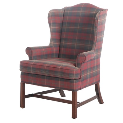 Woodmark Originals Chippendale Style Upholstered Wingback Chair