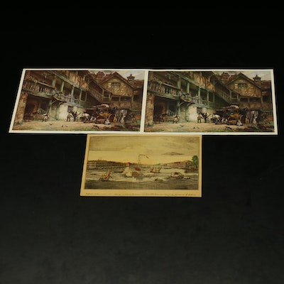 Reproduction Prints after E. M. Bennett and Others