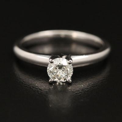 EFFY 14K 0.45 CTW Diamond Solitaire Ring