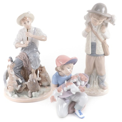 """Norman Rockwell by Lladró """"Springtime of 27"""" and More Porcelain Figurines"""