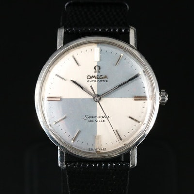 Omega Seamaster DeVille Stainless Steel Wristwatch