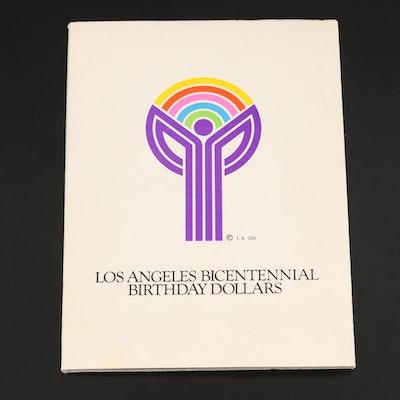 Los Angeles Bicentennial Commemorative Birthday Dollars Set