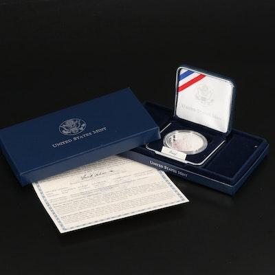 2004-P Thomas Edison Commemorative Proof Silver Dollar