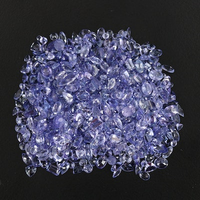 Loose 125.28 CTW Faceted Tanzanite Selection