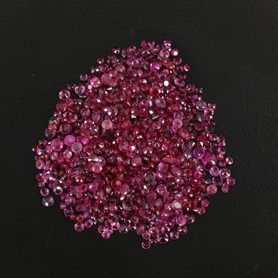 Loose 50.01 CTW Faceted Rubies