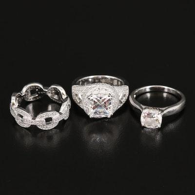 Vanna K. Cubic Zirconia Rings