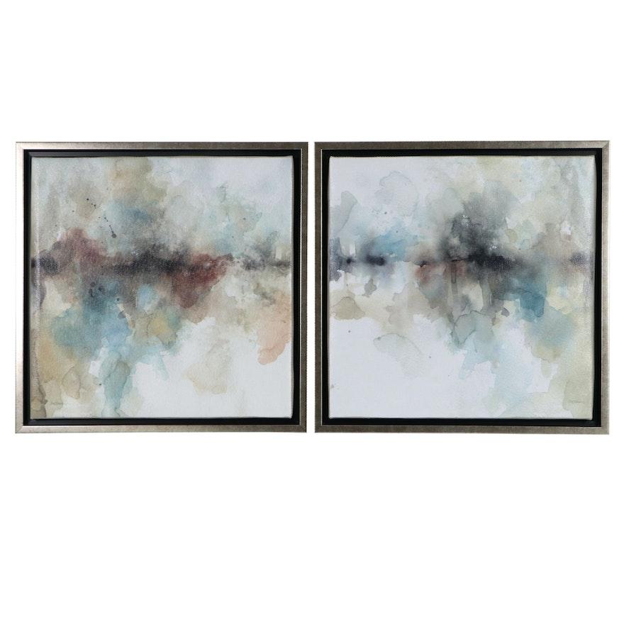 "Carol Robinson Giclée Prints ""Island Mist I"" and ""Island Mist II"""