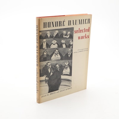 """""""Honoré Daumier: Selected Works"""" Edited by Bruce and Seena Harris, 1969"""