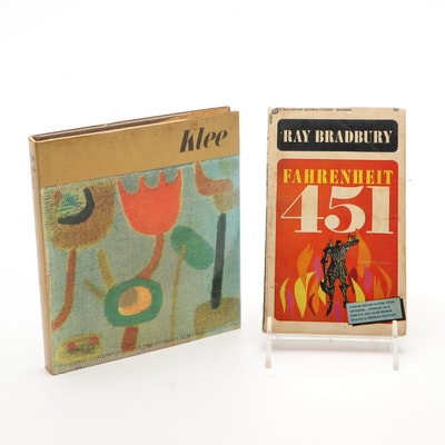 """Fahrenheit 451"" by Ray Bradbury and ""Klee"" by Robert Fisher"
