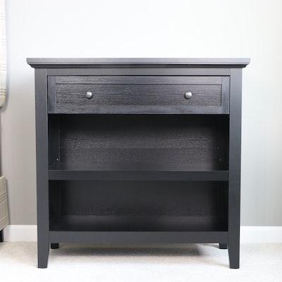 "Threshold ""Carson"" Ebonized Wood Single-Drawer Console Table"