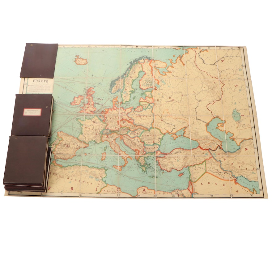 Rand McNally & Co. Fold-Out Map Collection, Early to Mid-20th Century