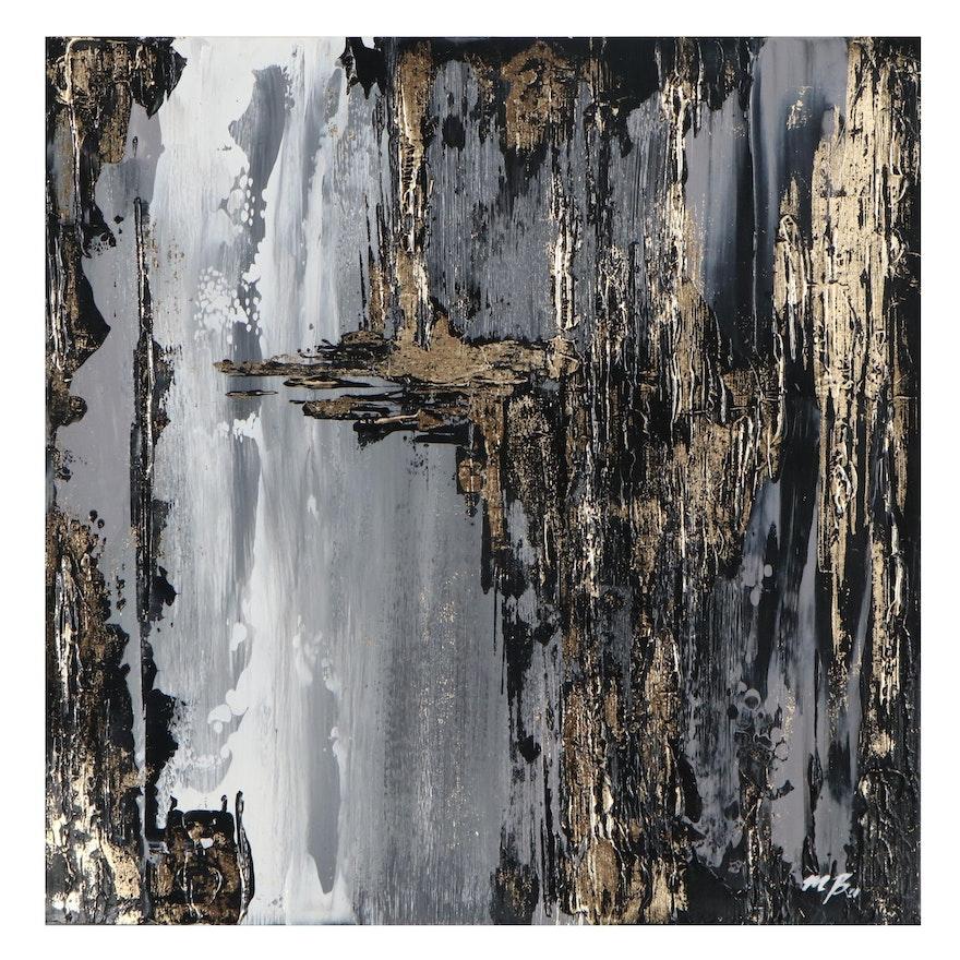 Mary Bray Abstract Acrylic Painting, 2021