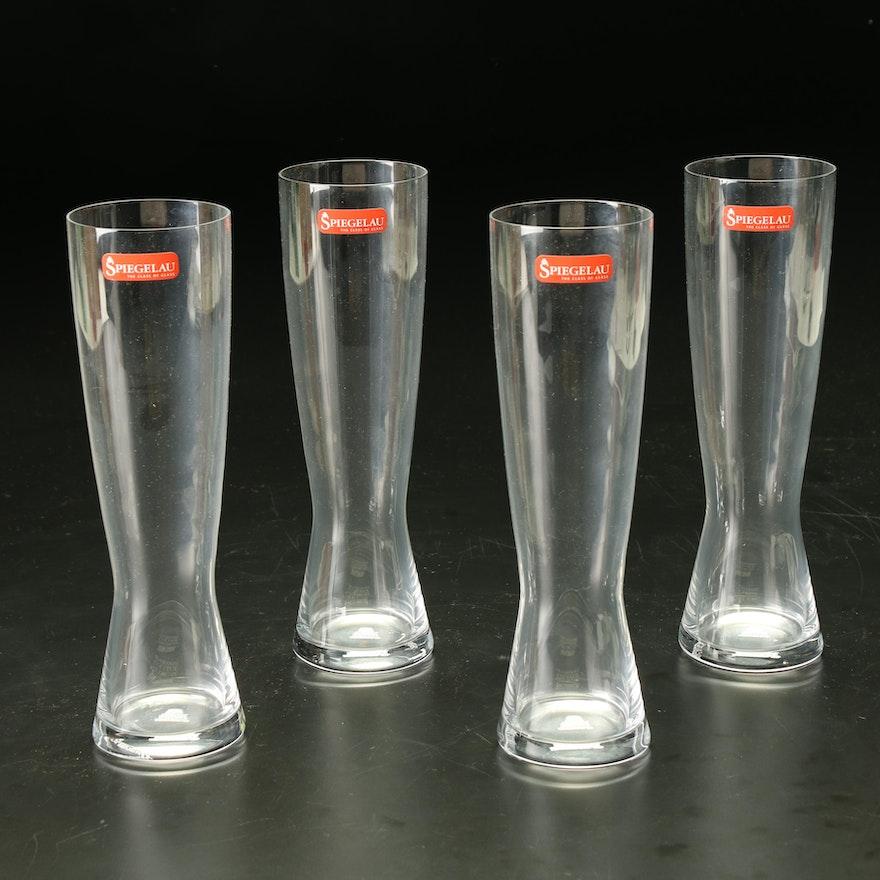 German Spiegelau Pilsner Glasses
