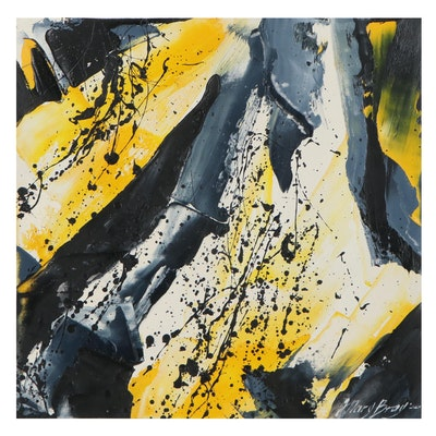 Mary Bray Abstract Oil Painting, 2021