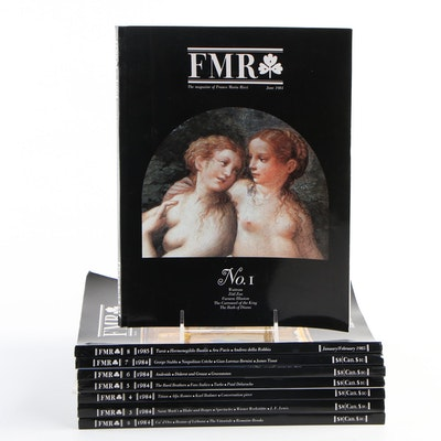"Franco Maria Ricci ""FMR"" Art Magazine, Volumes 1-8, 1984"