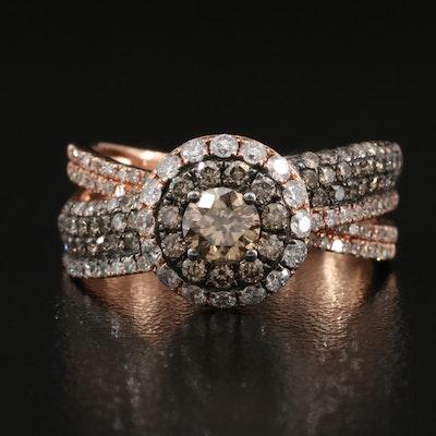 EFFY 14K 1.37 CTW Diamond Ring