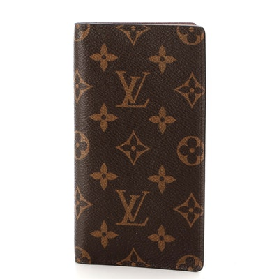 Louis Vuitton Pocket Agenda Cover in Monogram Canvas with Box and Dust Bag