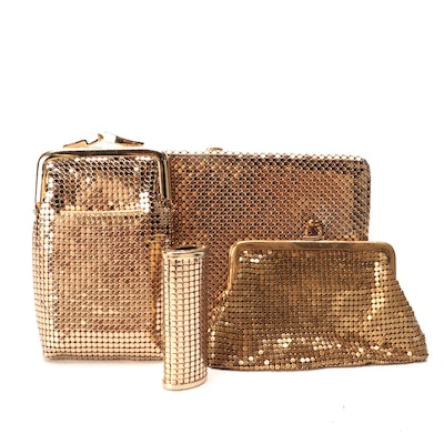 Whiting & Davis and Other Clutch Wallet, Coin Purses and Lipstick/Perfume Holder