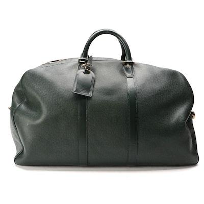 Louis Vuitton Kendall GM Bag in Épicéa Green Taïga Leather