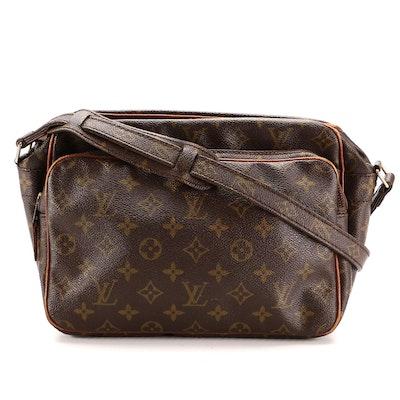 Louis Vuitton Nil Shoulder Bag in Monogram Canvas