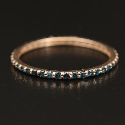 14K Diamond Eternity Band Ring