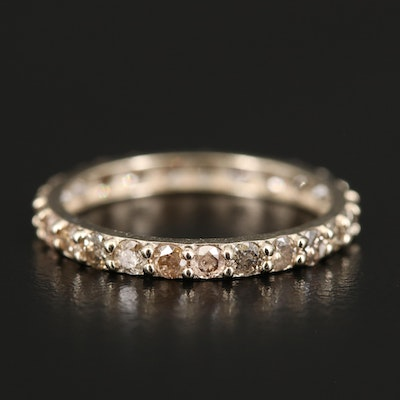 14K 1.25 CTW Stackable Diamond Eternity Band Ring