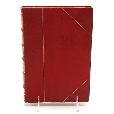 """Illustrated """"The Works of Gustave Flaubert"""" Limited Saint-Beuve Edition, c. 1904"""