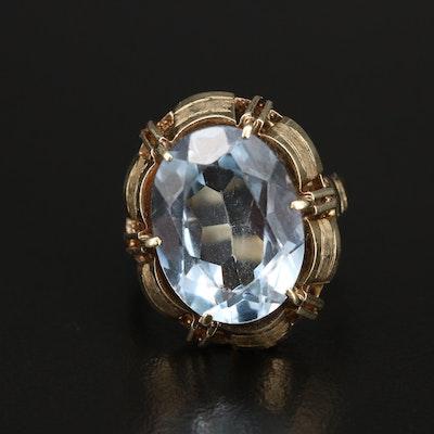 Vintage 14K Spinel Ring