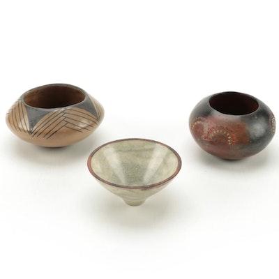American Southwest Miniature Ceramic Vases
