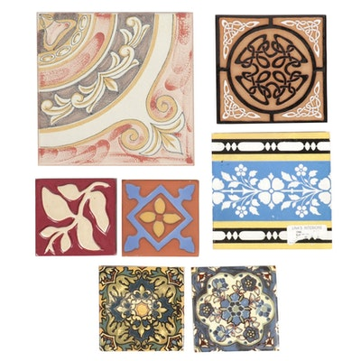Decorative Ceramic Wall Tile Assortment