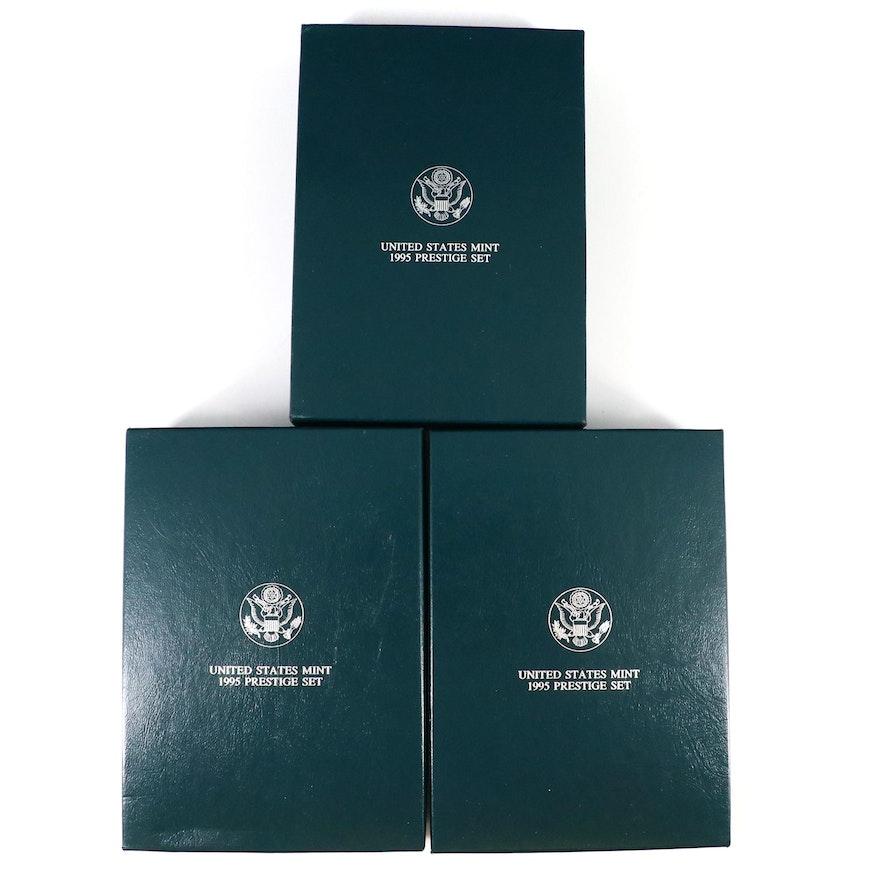 1995 Civil War Battlefield Commemorative Prestige Coin Sets