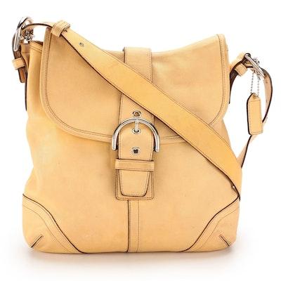 Coach Soho Hobo Bag in Yellow Leather
