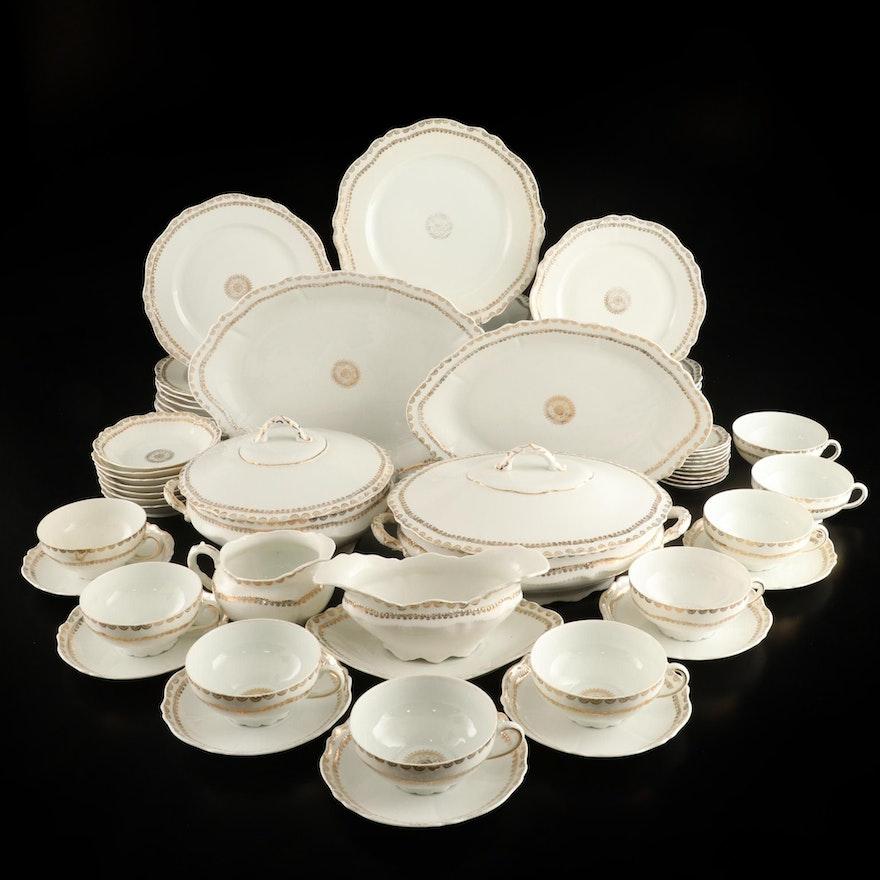 Oscar and Edgar Gutherz Royal Austrian Porcelain Dinnerware