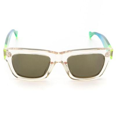 Céline CL41732 Transparent Rainbow Sunglasses with Soft Case