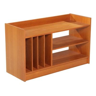 "S.B Feldballes Møbelfabrik ""New Furniture"" Danish Modern Teak Veneer Media Stand"