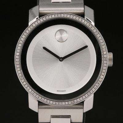 "Movado ""Bold"" Diamond Wristwatch"