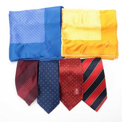 2008 Beijing Olympics Souvenir Necktie with David Chu Bespoke and Other Neckwear