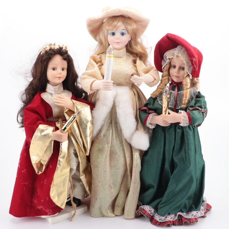 Holiday Themed Doll Collection