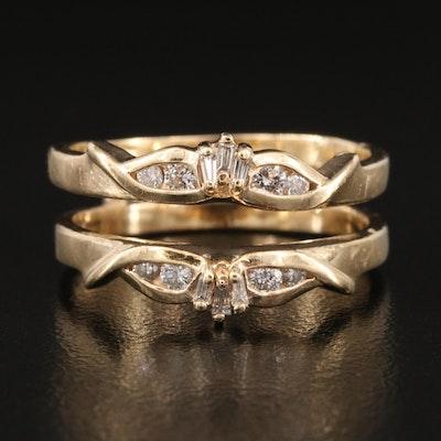 14K Diamond Ring Jacket