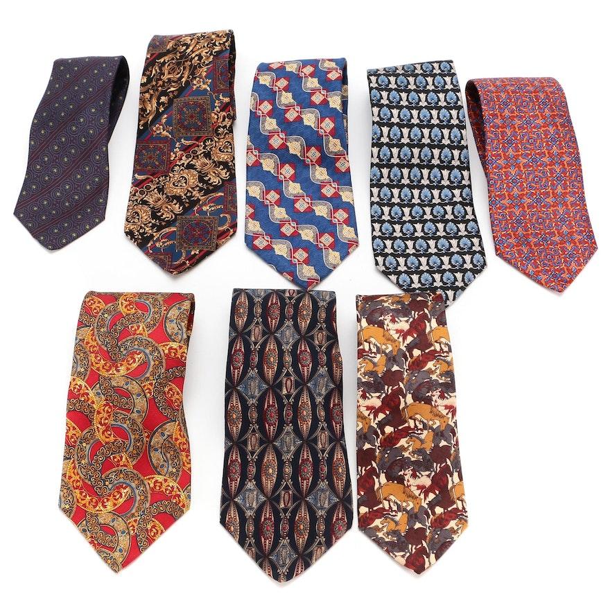 Metropolitan Museum of Art Assortment of Patterned Silk Neckties