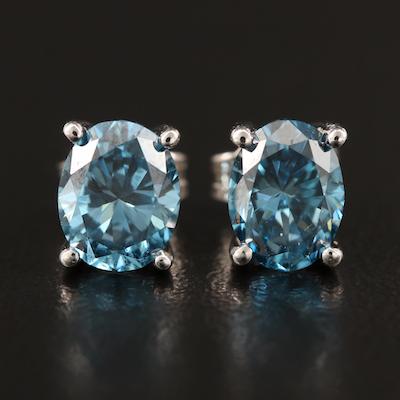 14K 1.92 CTW Diamond Stud Earrings