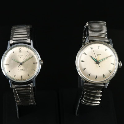 Pair of Vintage Timex Wristwatches