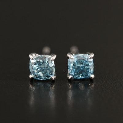 14K 0.95 CTW Diamond Stud Earrings