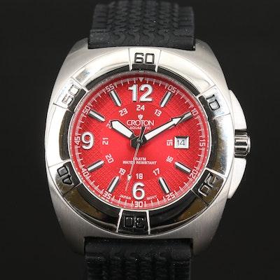 Croton Aquamatic Quartz Wristwatch